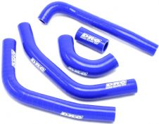 New DRC Husqvarna Husky FC 450 16-17 Radiator Silicon Hose Kit Blue